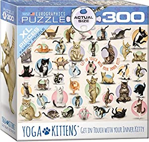 "Eurographics 8300-0991 ""Yoga Kittens Puzzle (300 Piezas)"