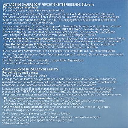 Lancaster – Skin Therapy – Gel crema hidratante antiedad con oxigeno – 50 ml
