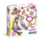 Clementoni Poppige Anhänger Set | Soy Luna Kinder Kreativ Spiel