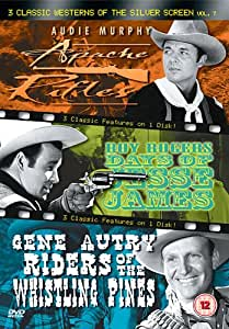 3 Classic Westerns Of The Silver Screen Vol 7 Dvd