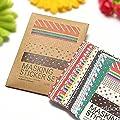 Saver 27 Blätter Dekorative Masking Sticker Set Labeling Fertigkeit Scrapbooking von 365 Saver auf Gartenmöbel von Du und Dein Garten