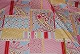 alles-meine.de GmbH 1 m * 1,4 m Patchwork Stoff Baumwolle