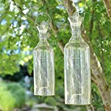 Buri Glas-Wespenfalle Höhe 45,5cm Gartendeko Insektenschutz Mückenfalle Fliegenfänger