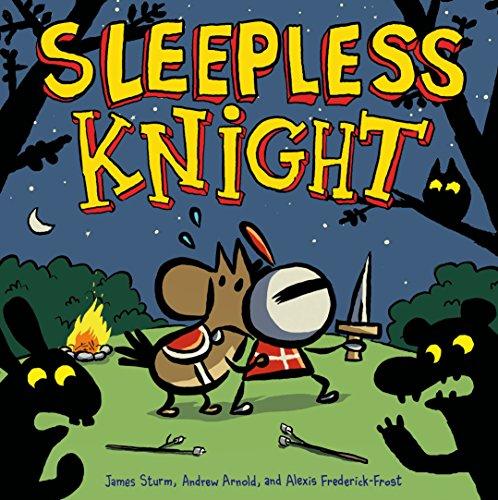 Vier-panel-natural (Sleepless Knight (Adventures in Cartooning) (English Edition))