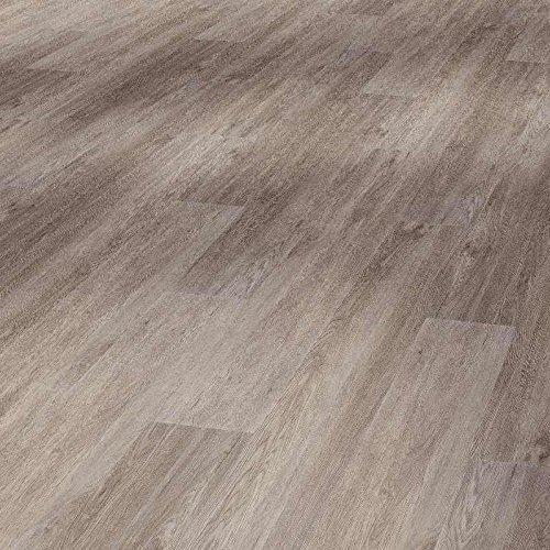 PVC-Bodenbelag Deluxe   PVC-Planken in grauer Eichenholzoptik