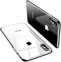 TORRAS Clear iPhone XS Case [Specifically for iPhone XS], Anti-Yellow Slim Thin Soft TPU Reinforced Silicone Gel iPhone...