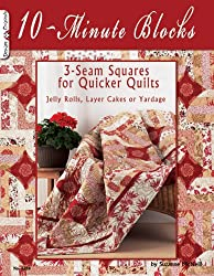 10 Minute Blocks: 3-seam Squares for Quicker Quilts