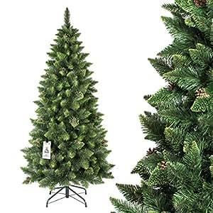 fairytrees weihnachtsbaum k nstlich slim kiefer natur. Black Bedroom Furniture Sets. Home Design Ideas