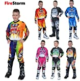 Bambini Tuta Motocross ~ WULFSPORT FIRESTORM Bambini tuta moto...