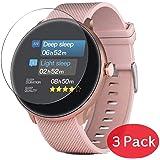 """VacFun 3 Pezzi Vetro Temperato Pellicola Protettiva Compatibile con Bebinca GE-W70 1.2"""" Smartwatch Smart Watch, 9H Pellicola"""