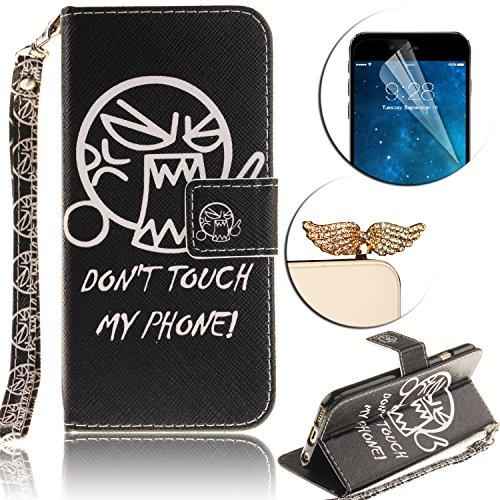 Cover Huawei P9 Lite 2016, Custodia Huawei P9 Lite 2016, Sunroyal [RFID Blocco Portafoglio] Bling Diamante Custodia 100% da del Raccoglitore Manofatto Basamento per Carta di Credito Copertura protetti Cinturino 05