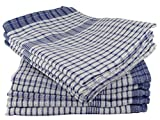 Wonderdry Tea Towels Blue Pack of 10 100% Cotton