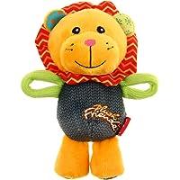 GiGwi 'Plush Friendz' Squeaky Dog Toy with (Lion, 17 cm)