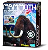 Dig & Excavate a Mammoth Skeleton Bones - Dinosaur Skeleton Set - Number One Discovery - Prehistoric Toys & Games Gift Present Idea For Birthdays Age 8+ Boys Boy Children Child Kids