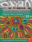 Libros Para Colorear Para Adultos: Mandala Indio Paginas Para Colorear (Libros de Mandala Intrincados Para Adultos) Volumen 7