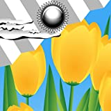 Orologio Meteo Widget Tulipani