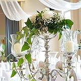 Dekowelten Blumenschale 16cm Durchm. Ohne Kerzenleuchter Kerzenständer Wedding Ohne Blumen