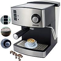 Espressomaschine | Cappuccinomaschine | Kaffeemaschine | Milchaufschäumer | Siebträger Espressomaschine | Elektrische…