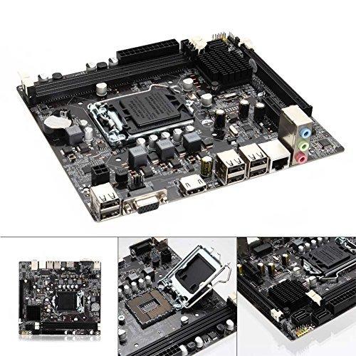 Rokoo 1155 DDR3 Computer Hauptplatine PCIE Micro ATX Karte für H61 Sockel LGA Unterstützung Core i7