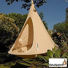 Ambiente Pötschke Cacoon sospeso tenda, 2-posti, bianco