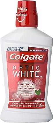 Colgate Mouthwash Optic White - 500 ml