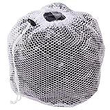 KItipeng Sacs à Linge,Sacs de Blanchisserie Filets de Lavage Sac a Linge pour Machine à Laver Soutien-Gorge sous-vêtements Lavage Entretien Proteger (Blanc) (1 Pcs)
