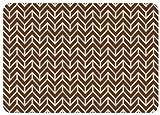 Bungalow Bodenbelag Premium Komfort Fußmatte, 22von 79cm, Bremen, Schokolade