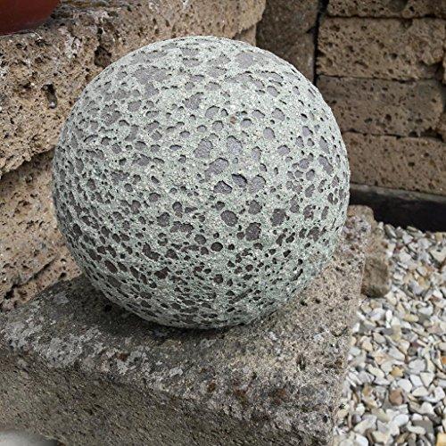 Kunert-Keramik Kugel aus frostfestem Steingut,antik-Optik,22cm Durchmesser
