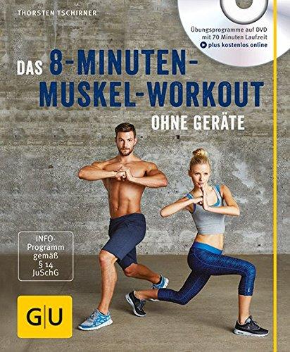 Image of Das 8-Minuten-Muskel-Workout ohne Geräte (mit DVD) (GU Multimedia)