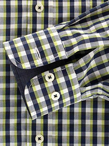 CASAMODA Herren Businesshemd 441906600 Regular Fit Grün