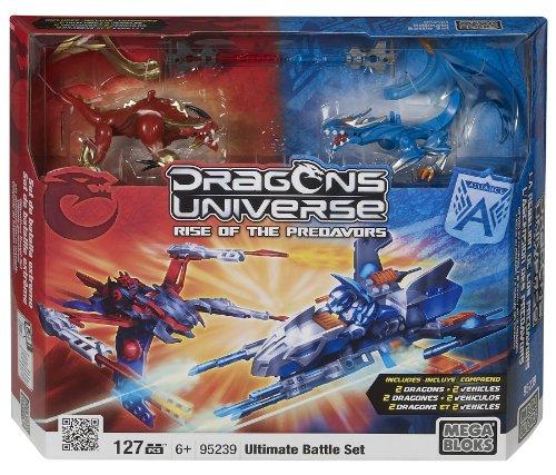 Dragons Mega Brands Ultimate Battle Set 2