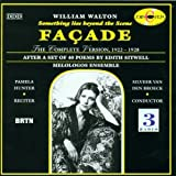 William Walton: Façade (Something Lies Beyond the Scene) The Complete Version- After a set of 40 Poems by Edith Sitwell