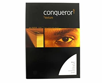 conqueror laid textured ream of paper a4 100gsm 500 sheets color