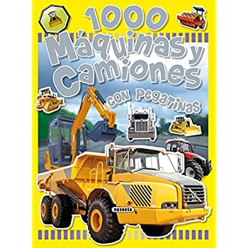 1000 Maquinas Y Camiones / 1000 Machines And Trucks: Con Pegatinas / With Stickers