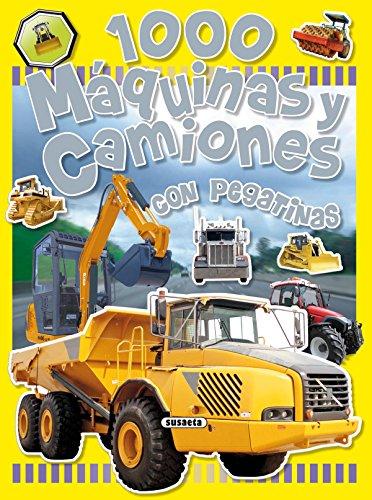 1.000 máquinas y camiones (1000 Pegatinas) por Equipo Susaeta