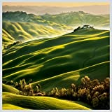 Eurographics LA-KRB1003 Green Tuscany 50x50 Light Art, Acryl, Bunt, 50,00 x 50,00 x 5,00 cm