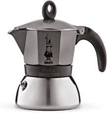 Bialetti Moka - Stove Top Espresso Maker - Induction Suitable - Aluminium & Stainless Steel - Various Sizes and Colours