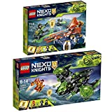 LEGO Nexo Knights 2er Set 72001 72003 Lances schwebender Cruiser + Berserker-Flieger