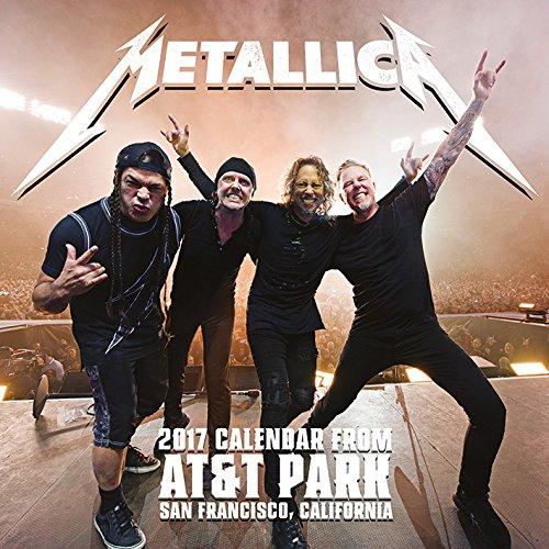 2017 Metallica Official Calendar