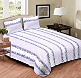 AJ Home 100% Cotton Double Bedsheet with...