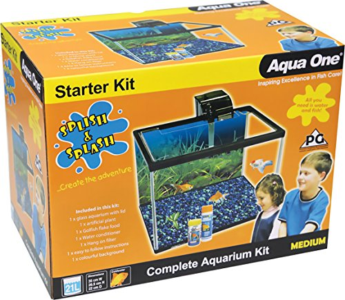 Image of Aqua One Splish and Splash Starter Kit, Medium, 21 Litre