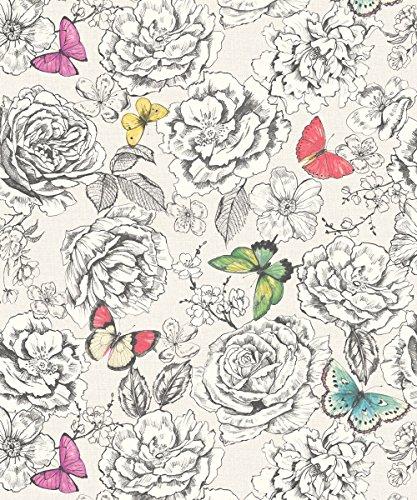 holden-decor-primrose-blanc-multi-papier-peint-motif-fleurs-de-rose-papillon