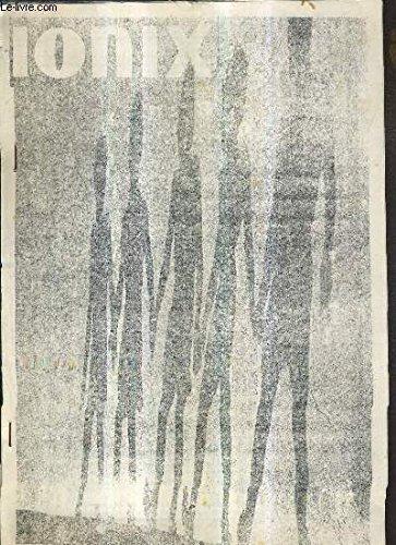 IONIX N°4 - MARS 1973 - Plutonium supreme danger - vosges plaine du rhin - plan orsec rad - objection de conscience - klapperstei 68 - pierre fournier ... - ote toi de mon soleil etc.