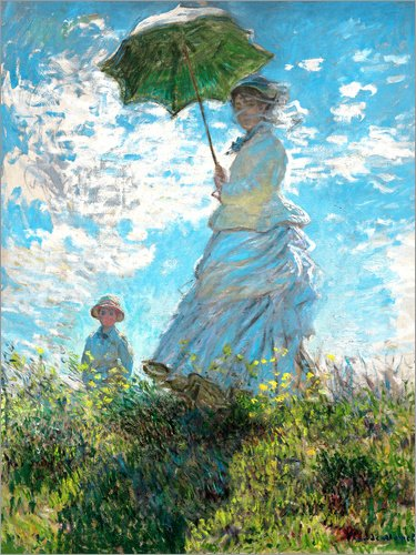 Imagen-Woman-with-a-Parasol-Madame-Monet-and-Her-Son-Claude-Monet