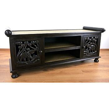 antyki24 tv kommode massiv board kolonialstil lowboard schrank holz sideboard kolonial vi 57 x. Black Bedroom Furniture Sets. Home Design Ideas