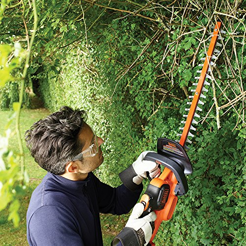BLACK+DECKER 36 V Lithium-Ion Anti-Jam Hedge Trimmer with 2 Ah Battery, 55 cm