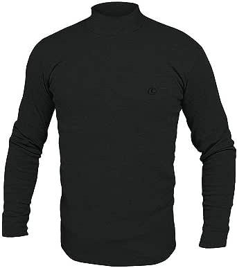 Navigare Lupetto Collo Alto Uomo Manica Lunga Underwear in Cotone Interlock GARZATO - Disponibile in Vari Colori nelle Taglie dalla 3 alla 7