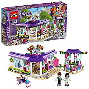 LEGO-Friends Il caffè degli Artisti di Emma, Multicolore, 41336 0758710717854 LEGO