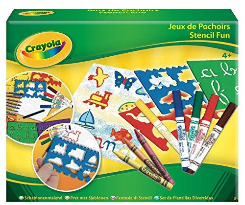 Crayola - JEUX DE POCHOIRS - Activités pour les enfants - 256322.006