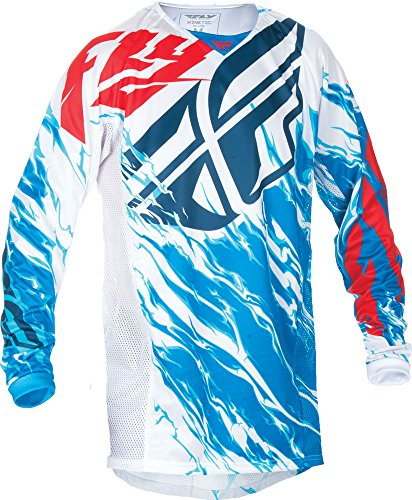 Dirt Track Racing T-shirts (Fly Racing Jersey Kinetic Relapse Rot Gr. L)